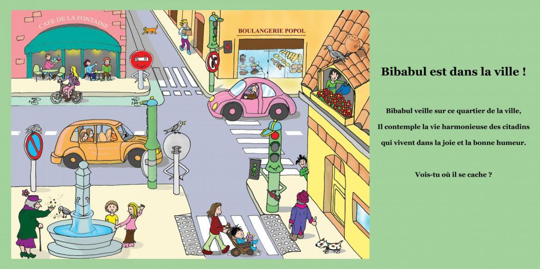 Bibabul en ville red