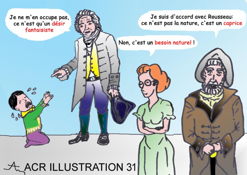 Rousseau besoin ou caprice